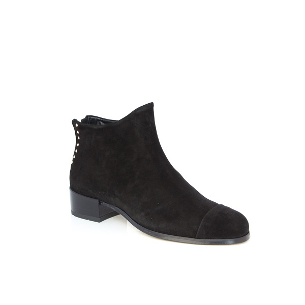 Beau Coops Beau5 Black Suede Womens Boots