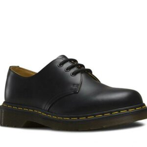 Dr Martens 1461 Smooth Black Leather Shoe