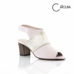 Donna Carolina Bonnie Dream Rose Womens Heel Sandals