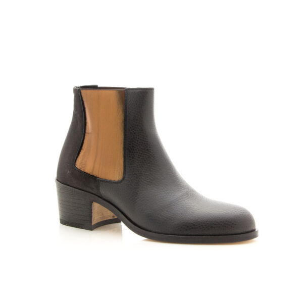 Beau Coops Jerry Basket Black Boot