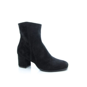 Donna Carolina Phoebe Black Suede Boots