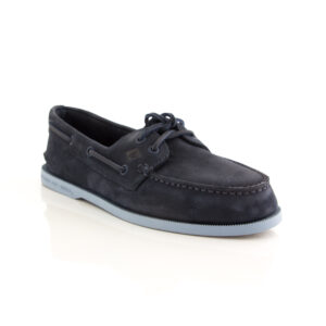 Sperry A/O 2-Eye Washable Navy 17990 Mens boat shoe