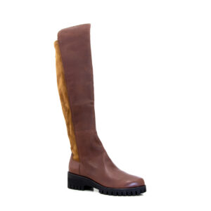 Donna Carolina Edina Brown Knee high boots