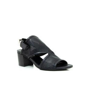 Piampiani Milano Black 7831B sandal heels