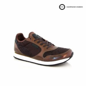 Woden Ydun II NSC Metallic Chocolate Womens Sneaker
