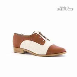 Rebecca Balducci Marlene Tan/Fabric Womens Flats