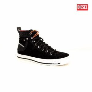 Diesel Exposure IV W Black Velvet Womens Sneakers