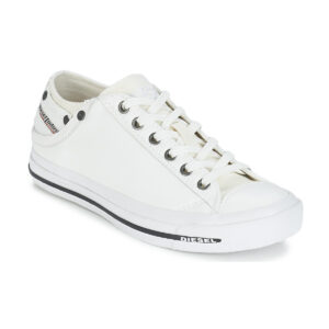 Diesel Exposure Low I White Mens Sneakers