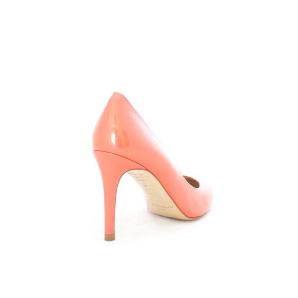 L.K.Bennett Stila Cantaloupe Patent Womens Heels