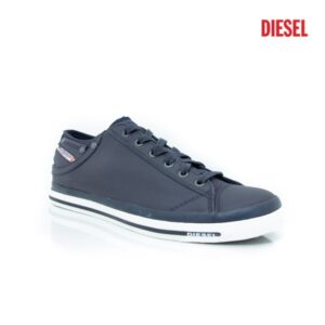 Diesel Exposure Low I Blue Nights Mens Sneakers