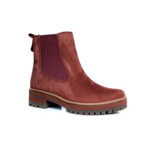 Timberland Courmayeur Valley Rust Chelsea A23WJ Womens Boots