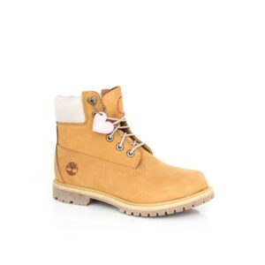 Timberland 6Inch Premium Wheat Heart Eyelet Womens Boots