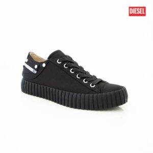 Diesel S-Exposure CLC W Satin Black Womens Sneakers