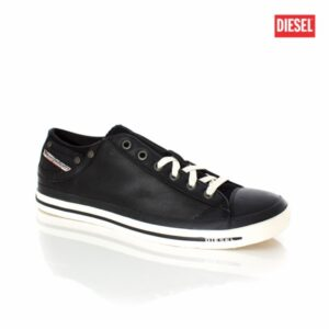 Diesel Exposure Low I Black Mens Sneakers