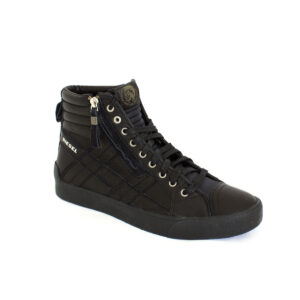 Diesel D-String Plus Mens Hi Top Black Y01169