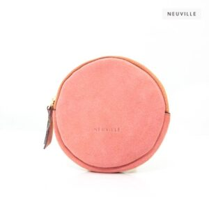Neuville Lua Pink Suede Womens Purse