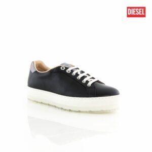 Diesel S-Andyes W Black Gunmetal Womens Sneakers