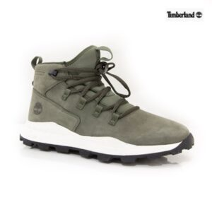 Timberland Brooklyn Alpine Chukka Dark Green Nubuck Mens Casuals