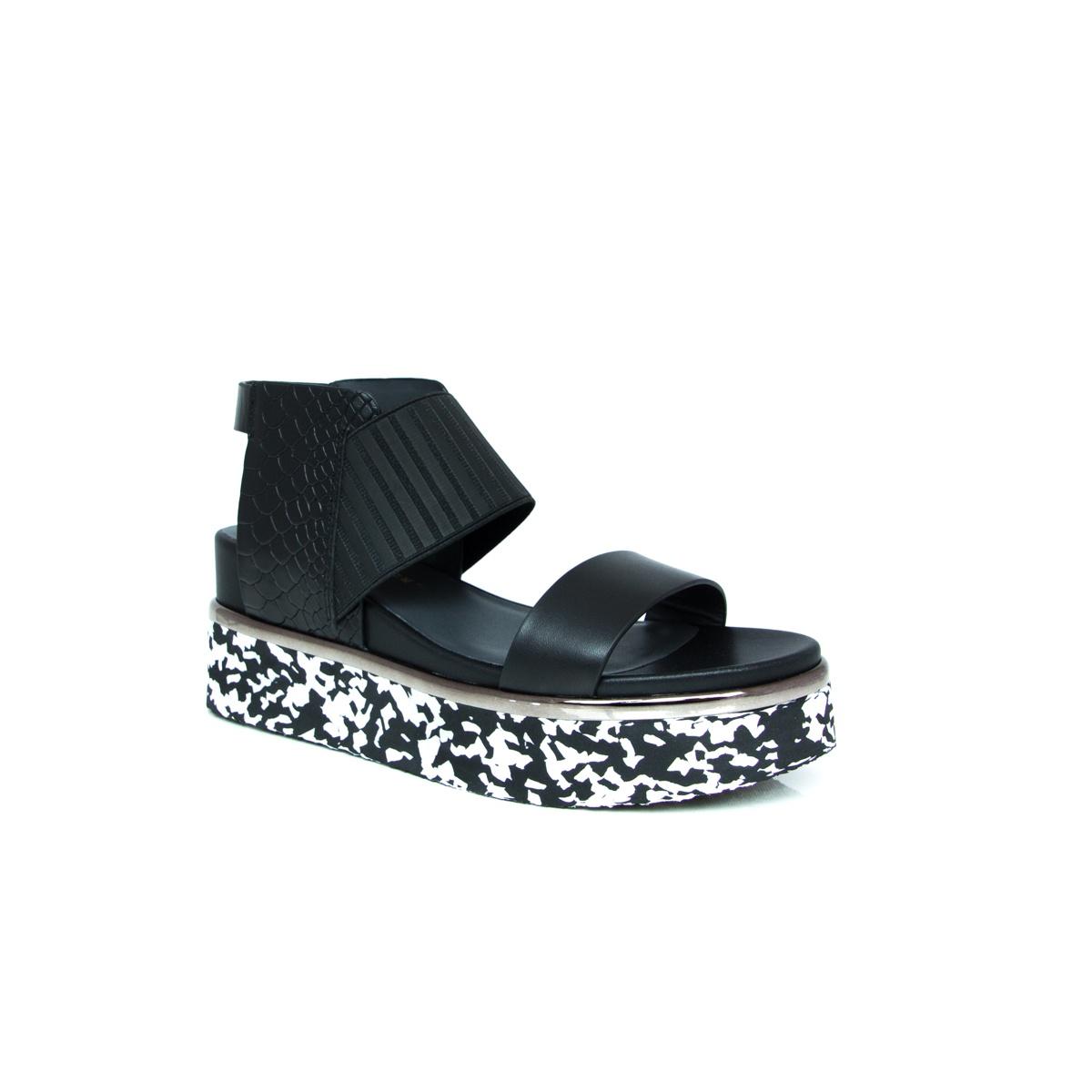Sandale UNITED NUDE - Rico Sandal 103040114905 Black - S