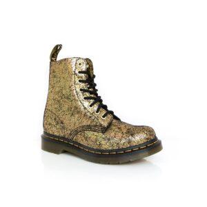 Dr Martens Pascal Crackle Gold Boots
