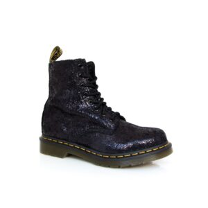 Dr Martens Pascal Crackle Black Iridescent Boots