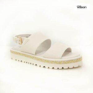 Miss Wilson Linell Sandal White Calf